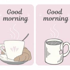 Set 2 planse protectoare pentru plita Good Morning