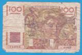 (1) BANCNOTA FRANTA - 100 FRANCS 1949 (19.05.1949)