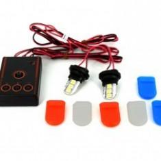 Stroboscoape LED 2*6 tip bec
