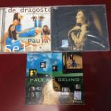 3 CD-uri Paula Seling : De Dragoste,De Sarbatori + Best Of (1998-2008)