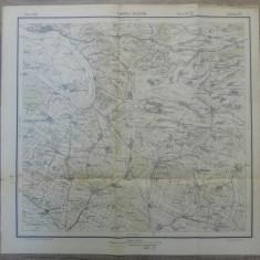 Turnul-Severin// harta Serviciul Geografic Armatei 1916