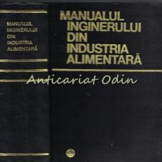 Manualul Inginerului Din Industria Alimentara - D. Motoc - Tiraj: 2265 Exemplare