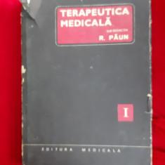 TERAPEUTICA MEDICALA VOL 1 - PAUN