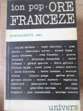 ORE FRANCEZE CONVORBIRI - ION POP
