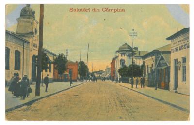 4775 - CAMPINA, Prahova, Romania - old postcard - unused foto