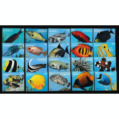 Dominica - Fauna Marina - PESTI - Nestampilat