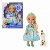 Papusa Snow Glow Elsa Disney Princess, 10 limbi, 3 ani+