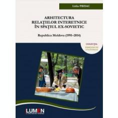 Arhitectura relatiilor interetnice in spatiul ex-sovietic: Republica Moldova (1991–2014) - Lidia PRISAC