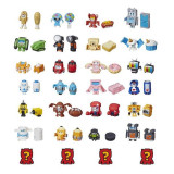 Hasbro Transformers Botbots Toys Series 1 Jock Squad 8-Pack -- Mystery 2-In-1 Figures