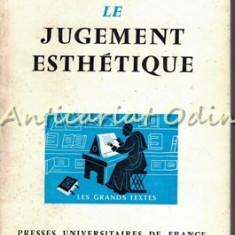 Le Jugement Esthetique - Kant