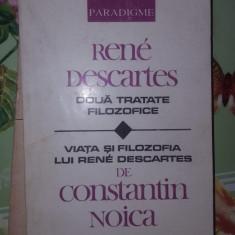 Doua tratate filozofice 378pagini/an1992- Descartes