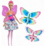 Papusa Barbie Dreamtopia - zana zburatoare