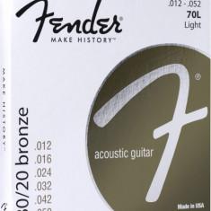 Corzi chitara acustica Fender 70L 80/20 Bronze 12-52
