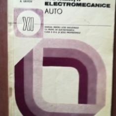 Instalatii electromecanice auto manual pentru clasa a XI-a- M. Poenaru, A. Leiutiu