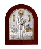 Sfantul Gherasim, Icoana Argint 925, 14.7X18cm Cod Produs 2739