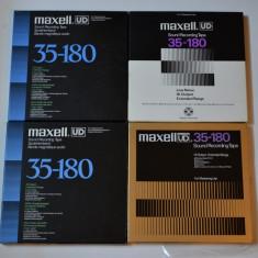 Banda magnetofon 4 X MAXELL UD 26,5 metal.nab -- ptr Akai.Teac.reVox