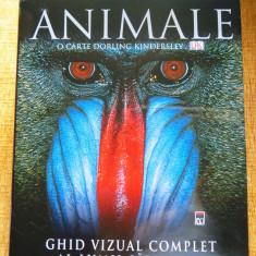 ANIMALE - Ghid vizual complet, Dorling Kindersley-Enciclopedia RAO, stare NOUA!