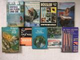Pescuit lot 9 carti catalog colectie carti peste pescuit hobby in limba germana, Alta editura, 1990