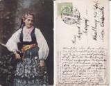 Brasov, Tara Barsei - Port sasesc-  rara, Circulata, Printata