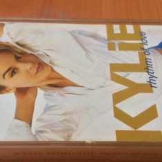 KYLIE MINOGUE - Rhythm Of Love  ( 1990 ) - Caseta Audio Originala  ( PWL )