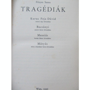 Tragediak -  Fenyes Samu