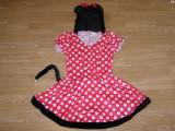 Costum carnaval serbare rochie minnie pentru adulti marime M, Din imagine