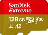Card de memorie Sandisk Extreme 128GB MicroSDXC Clasa 10 UHS-I U3