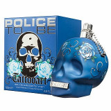 Police To Be Tattooart Eau de Toilette bărbați 125 ml