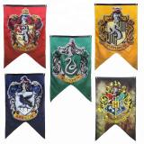 Steag Harry Potter Casa Slytherin – Banner pentru Petreceri si Decor, 125cm – 75cm