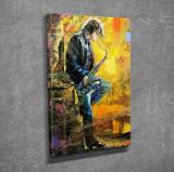 Tablou decorativ, Vega, Canvas 100 procente, lemn 100 procente, 30 x 40 cm, 265VGA1018, Multicolor