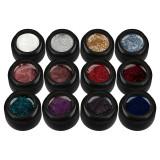 Set 12 Geluri UV Colorate Glitter Treasure Collection, SensoPRO Milano