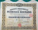 Actiuni Acțiuni Societatea Industriala de Petrol 1926 (Franceza)