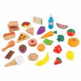 Set alimente de jucarie 30 piese, Kidkraft