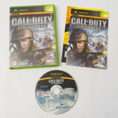 Joc Xbox Classic - Call of Duty Finest Hour