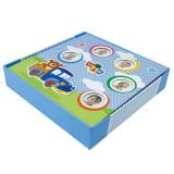 Album foto kids toys, personalizabil, 200 poze 10x15 cm, slip-in, notite culoare albastru
