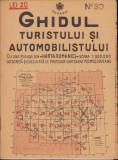 Ghidul turistului si automobilistului harta nr 30 Cahul 1936