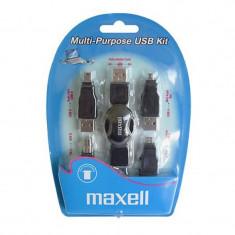 Kit adaptoare USB Maxell, 5 piese