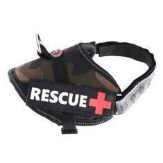 Ham pentru câini Rescue XS 30 - 40 cm, camuflaj