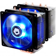 Cooler CPU ID-Cooling SE-904TWIN Blue LED, 2x Vent 92mm, 4x Heatpipe-uri Cupru