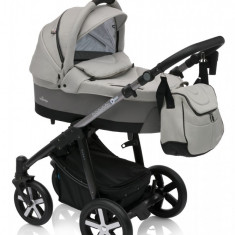 Carucior Multifunctional 2 in 1 Baby Design Husky Winter Pack 07 Grey