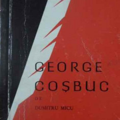 GEORGE COSBUC-DUMITRU MICU