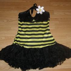 Costum carnaval serbare albina albinuta pentru adulti marime XS, Din imagine
