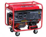 WG 5-200A Generator de sudura monofazat (2 x 220V) cu pornire electrica, motor..., Breckner