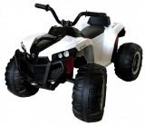 Atv electric cu 2 motoare si telecomanda Nichiduta Sport White