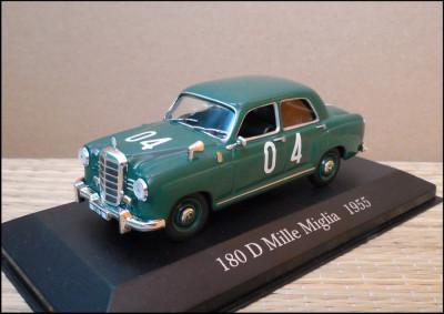 Macheta Mercedes-Benz 180 D Mille Miglia (1955) 1:43 IXO foto