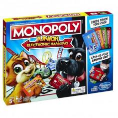 Joc de societate Monopoy Junior cu banca electrica E1842 Hasbro