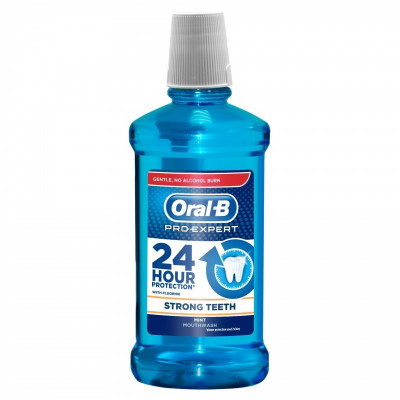 Apa de gura Oral B Pro-Expert Strong Teeth, 500 ml foto