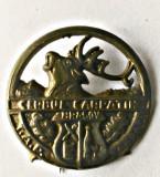 INSIGNA VANATOARE CERBUL CARPATIN TAP CARPATI
