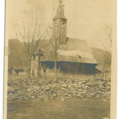 4615 - POIENILE de sub MUNTE, Maramures, CHURCH - old PC real PHOTO - unused, Necirculata, Fotografie