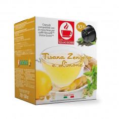 Capsule ceai Bonini Ghimbir si Lamaie - Compatibile Dolce Gusto® 10 buc
